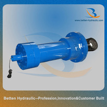 Plunge type big bore hydraulic oil cylinder