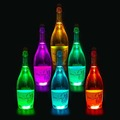 Party supplies colorful 3M led bottle sticker waterproof led sticker for bottle