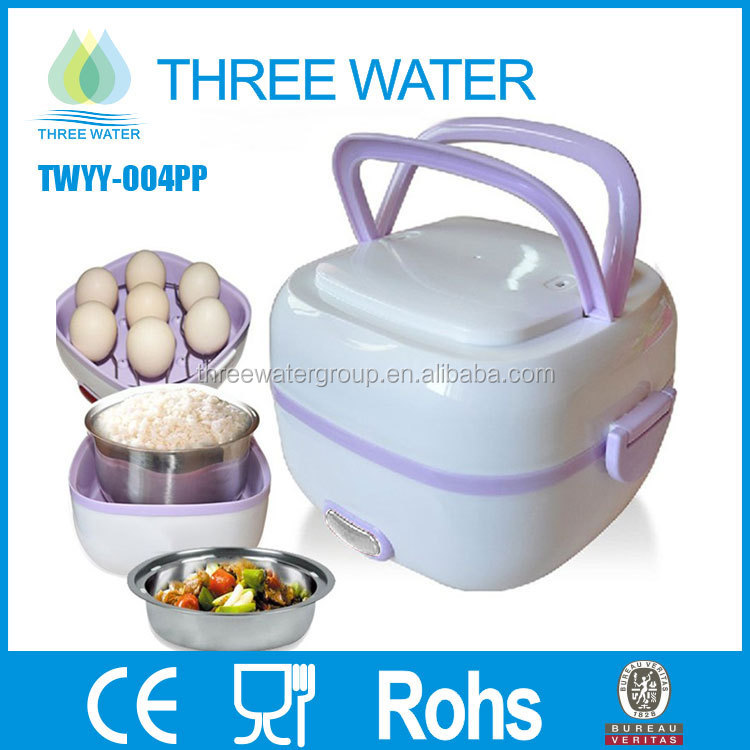 Electric Plastic lunch box Food Steamer