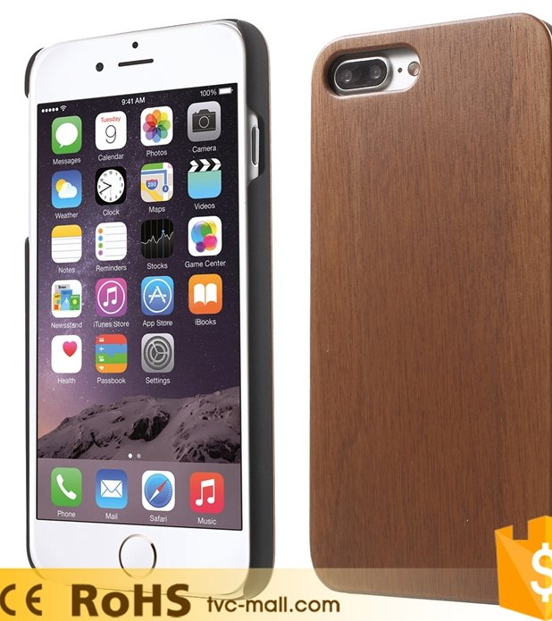 For Iphone 7 Plus Wooden Mobile Cell Phone Shell Cover Wood Phone Case