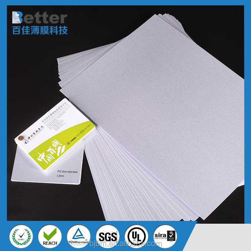 Inkjet PVC id card PVC blank card for inkjet printer