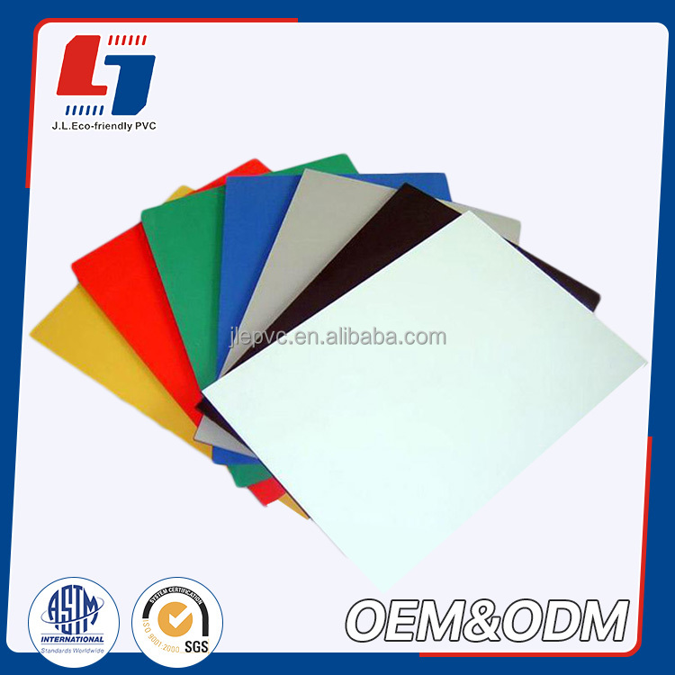 customized good quality Colorful ourdoor Interior kitchen cabinets fireproof pvc foam skirting board