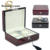 Hot Spot Supply Top Quality 6 Slots Cherry Wooden Watch Gift Box
