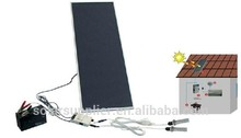 China best Green 5w solar panel solar indoor home lighting kit with USB 5V output port