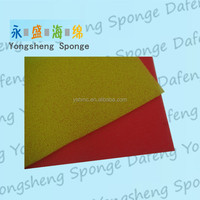 China fridge fresh fruits and vegetables filtering sponge pad