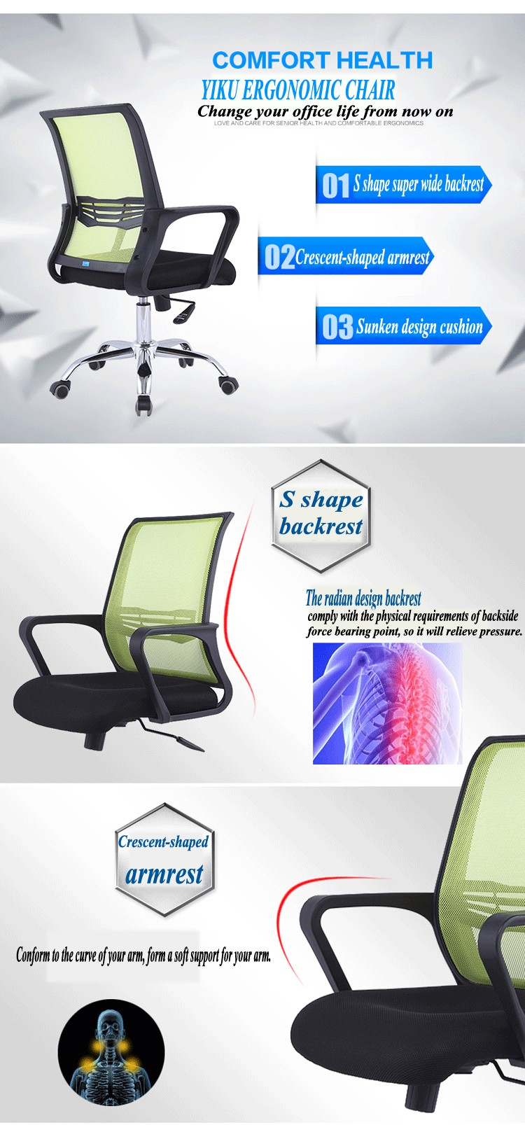 C30# Best place to buy stylish swivel home office chairs