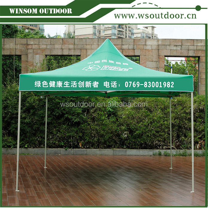 Pop up Printed Canopy Folding Gazebo Tent one piece acceptable