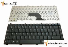 Laptop keyboard for FUJITSU V2010 L7300 H30 Black Layout French / FR
