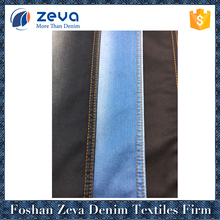 2017 hottest wholesale satin weave tencel denim fabric for lady jeans