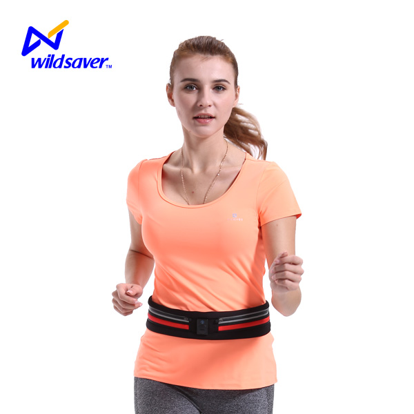 For ipad running waterproof waist bag