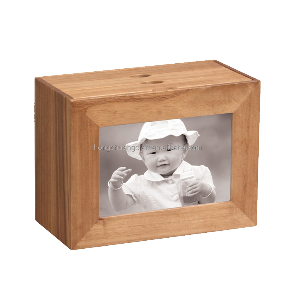 Wedding Natural Wooden photo album Box Manufacturer