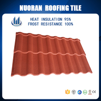 Roof Material CE Certificate shingle mixed color stone coated steel roof tiles/Aluminium Zinc roofing Sheets