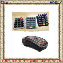 Custom Silkscreen Silicone Rubber Button Keypad Pad for Pos