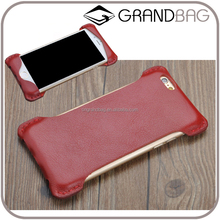 hot sell handmade pure genuine leather mobile case for iphone6/7 custom ,new phone case for Samsung