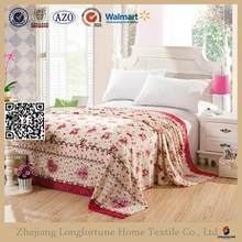 mattress protector bedding fitted sheet flannel fleece blanket