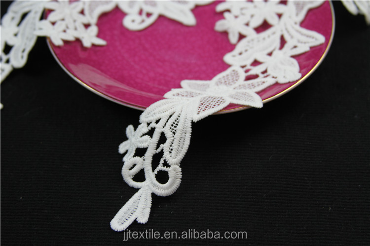embroidery trendy ladies neck designs collar lace