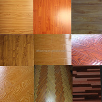 E0 / E1 High quality water resistant laminate wood flooring