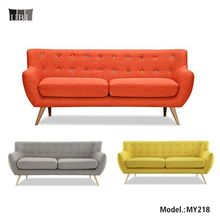 3 seater fabric sofa for living room furniture,Midcentury modern vintage design fabric sofa set,fabric sofa sets designs