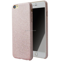 New Design Pink Pu Silk Protective Case for iPhone 6/6s Plus case
