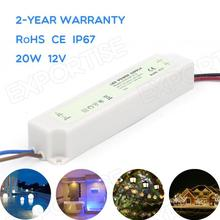 outdoor led power supply 200w 20w 12v 1.66A AC DC AC DC waterproof IP67