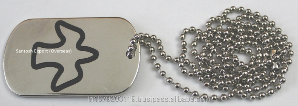 Stainless Dog Tag