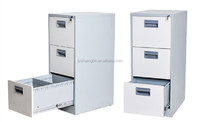 High quliaty 3 drawers small steel drawer cabinets storage locker/kids toy cabinet