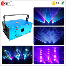 XHR new min size programmable stage rgb laser light show,4w dj laser light