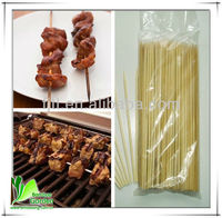 Natural Dry Original Eco-friendly Bamboo BBQ Skewers For Beef