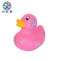 Promotional custom made sound floating toy bath rubber duck