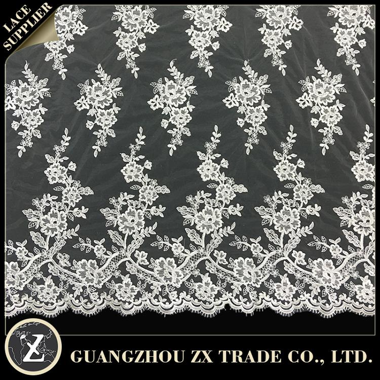 dentelle lace fabric african, soft nigeria cord lace fabric, top one africa polish lace