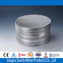 Plate Type And Is Alloy 1.5mm 3.0mm O H24 H14 3003 Aluminum Circle