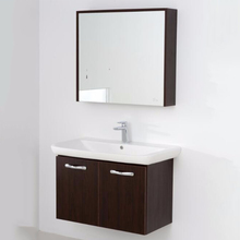 Promotional top quality hotel wall-mounted lowes bathroom vanity cabinet