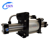 Modern technique USUN Model:GBT15/25 200 Bar Output natural gas pressure booster pump