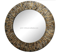 2016 Oval Romantic Venetian Etched Glass Mosaic Mirror/Wall Decor/Beauty /Dressing /Bathroom Mirror