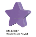 Star shaped items with any custom design Container Storage Tin Box