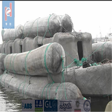 Ship launching and docking inflatable rubber Inflatable Marine Equipment Named Ship Airbag