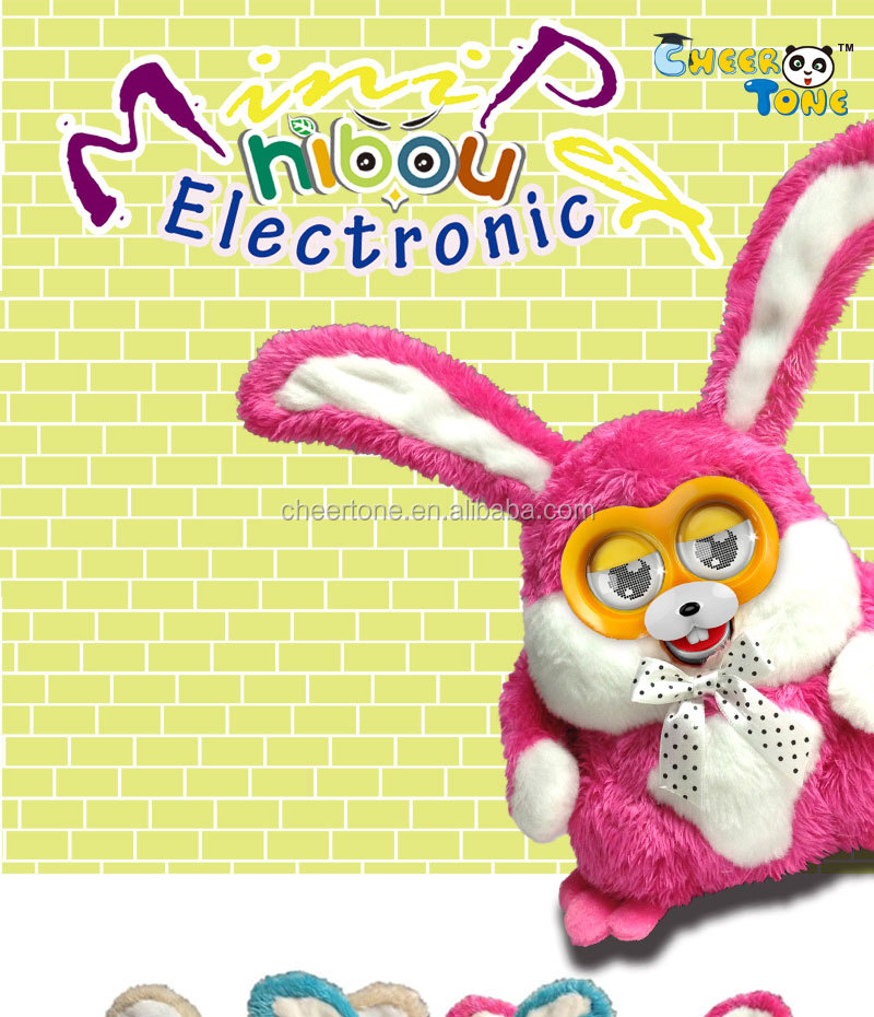 2014 hot new Electronic plush toy (Rabbit ), kids & adults love it