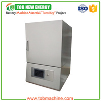 1700 Degree 18 Litres High Temperature Programmable Laboratory Muffle Furnace With Pid Automatic Control