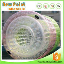 fantastic colorful big water floating ball inflatable water absorbing balls