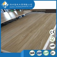 eatable waxed and bubble gum flavour beech melamine mdf board 18mm