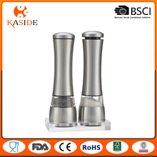 High Quality Stainless Steel Salt and Pepper Grinder Set