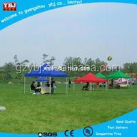 2015 hot sale cheap outdoor metal canvas outdoor foldable gazebos for commercial and trip event