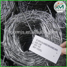 Barbed wire manufacturers hot dipped galvanized Barbed wire mesh