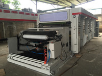 pe film 4 colors gravure printing machine