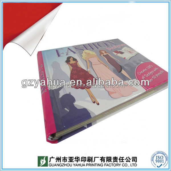 Wholesale price school book printing/ preschool education book printing/flip book printing