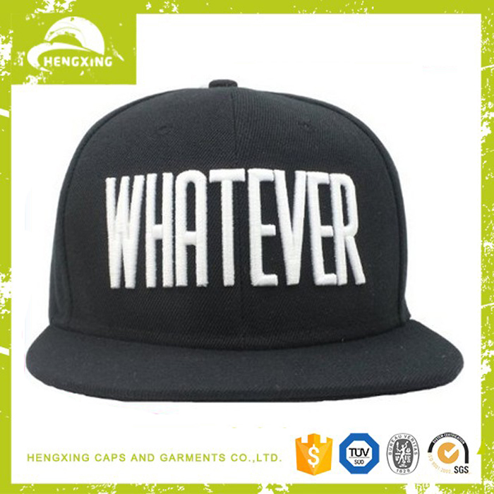 plain snapback caps, sanpback cap producer wholesale embroidery cap