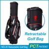 hot sale waterproof folding travel golf bag with rain cover