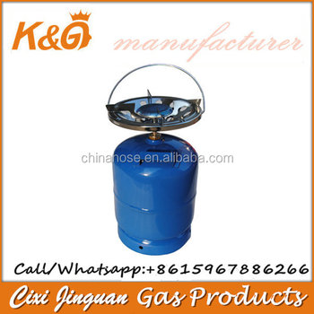 Portable Burner Gas Stove and Gas Cylinder Bottle Top Mini Camping Parts Price China Factory Kitchen LPG Accessories Best Supply