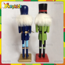2016 wholesale kids wooden nutcracker soldier,cheap baby wooden nutcracker soldier,best sale wooden nutcracker soldier W02A079