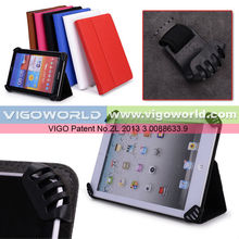 Universal Book Style Cover Case with Built-in Stand [Accord Series] for Toshiba 7 inch Thrive Tablet